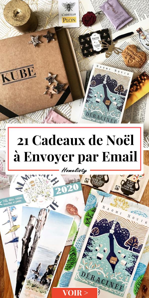 Les Idées de Cadeaux Dernière Minute à Envoyer par Email ou à