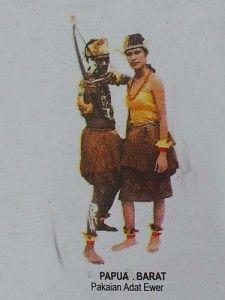 Traditional Dresses West Papua Pakaian Gambar Pakaian Tari
