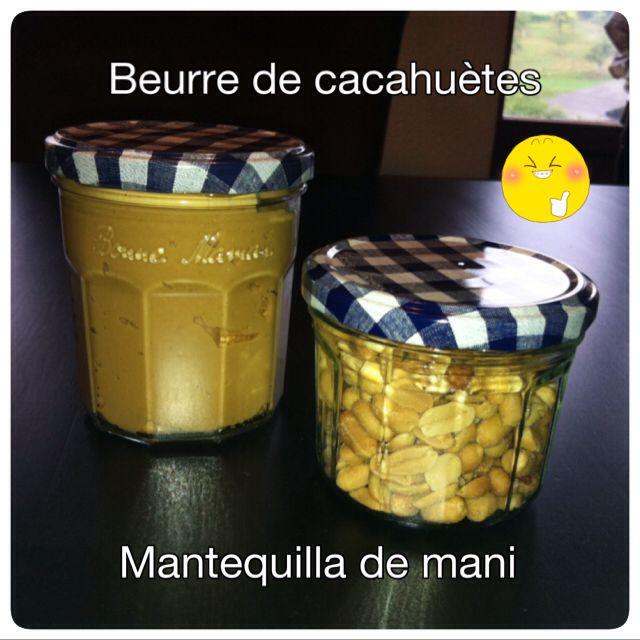 Beurre de cacahuètes fit