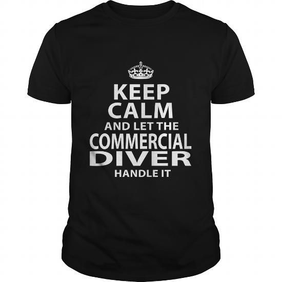 COMMERCIAL DIVER T Shirts, Hoodie. Shopping Online Now ==► https://www.sunfrog.com/LifeStyle/COMMERCIAL-DIVER-118698407-Black-Guys.html?41382