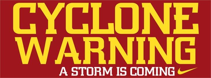 Ncaa Iowa St Cyclones Font By The Sports Fonts Fontspace With