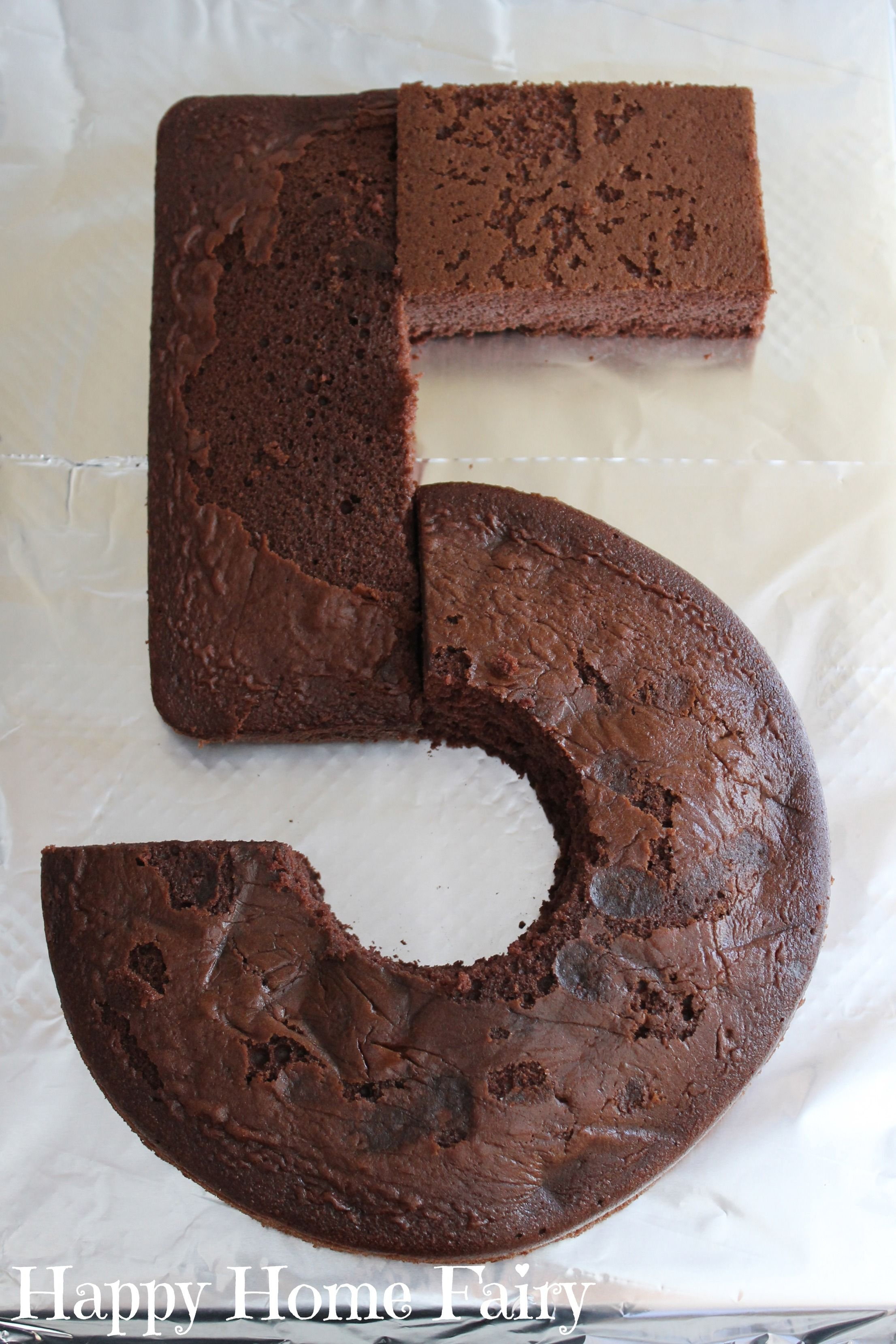 How To Make A Number 5 Cake Liams Party Pinterest Cake
