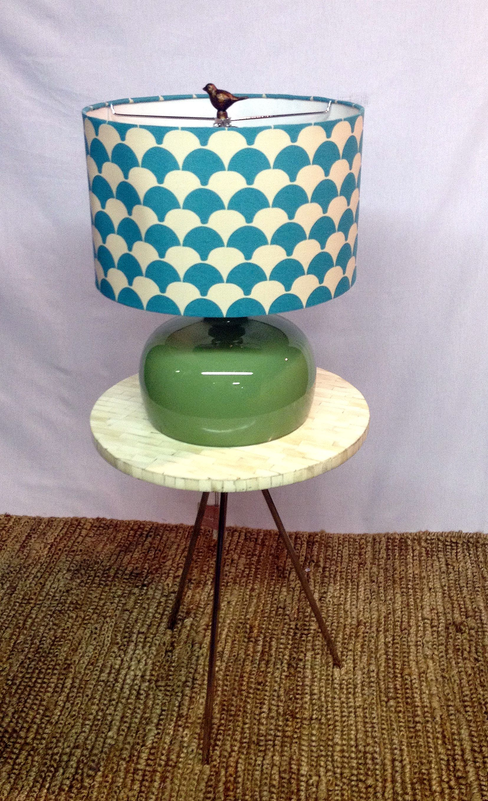 fun colored lamp great for spicing up a room with images