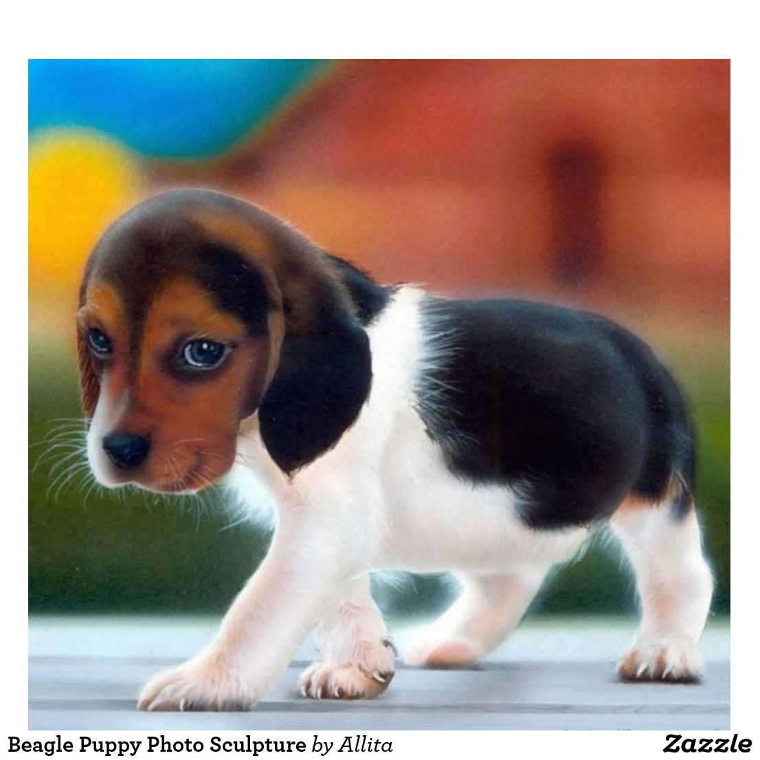 Beagle Puppy Photo Sculpture Zazzle Com In 2020 Cute Animal Pictures Cute Animals Cute Puppy Wallpaper