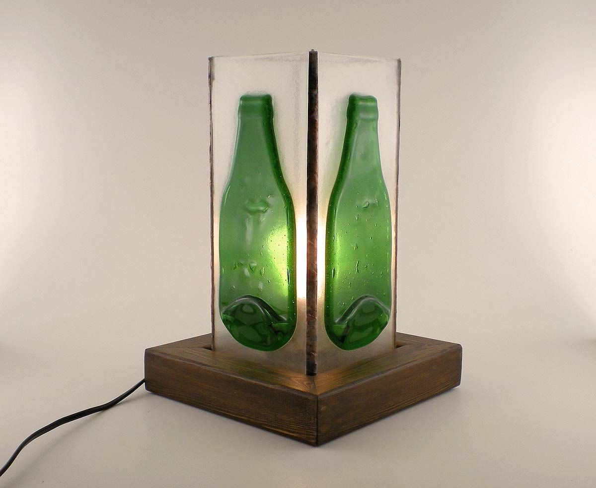Glass Bottle Lamps Accessories Awesome Desk Lamp Decorating Desig Ideas With Lime