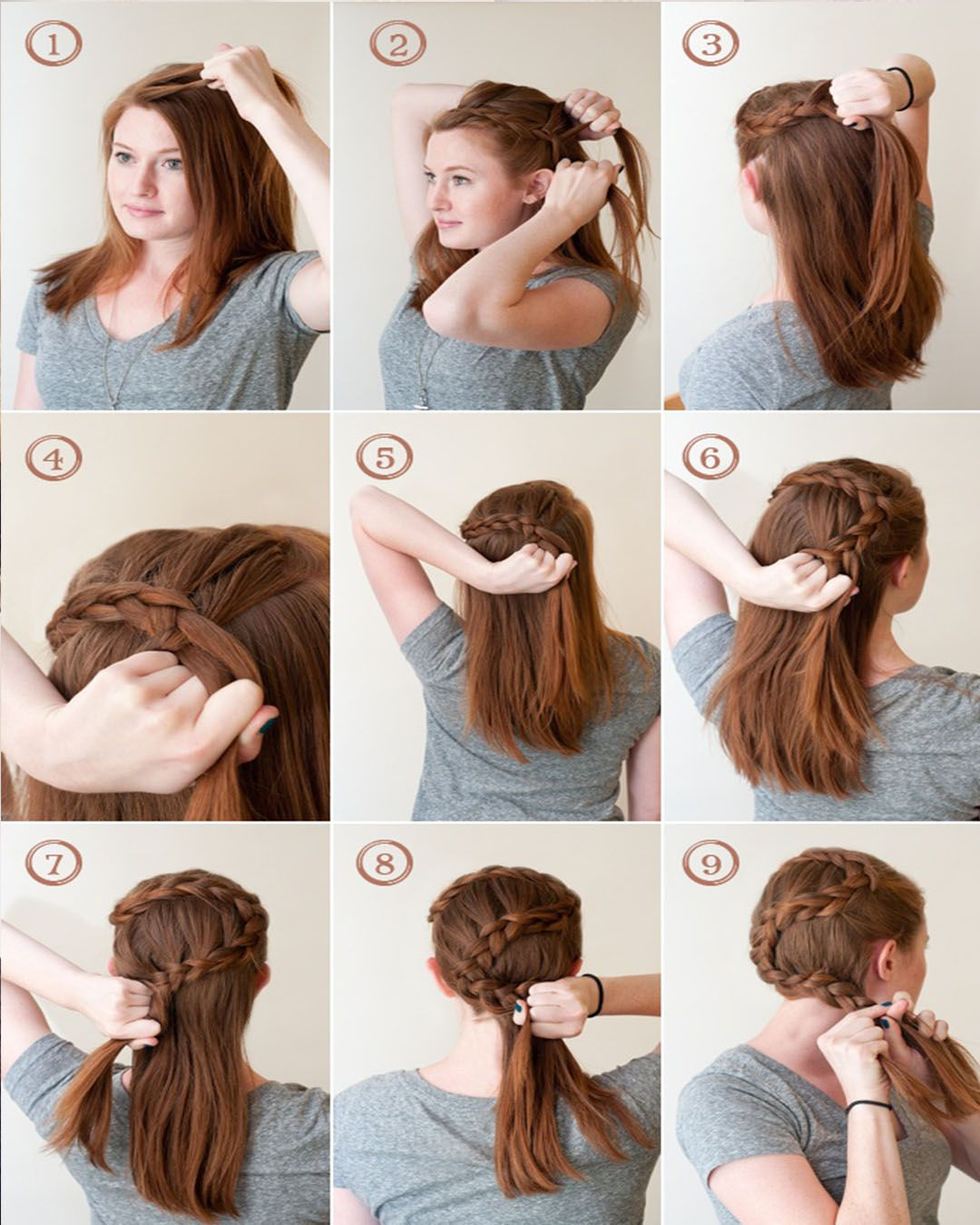 Hairstyles With Easy Step By Step Braids And Stylish Tumblr Fancy Hairstyles Pretty Hairstyles Braided Hairstyles Tutorials