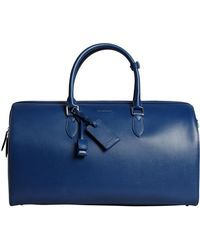 f21c3b9ce5 Burberry - London Leather Holdall - Lyst   Luggage/Bags   Burberry ...
