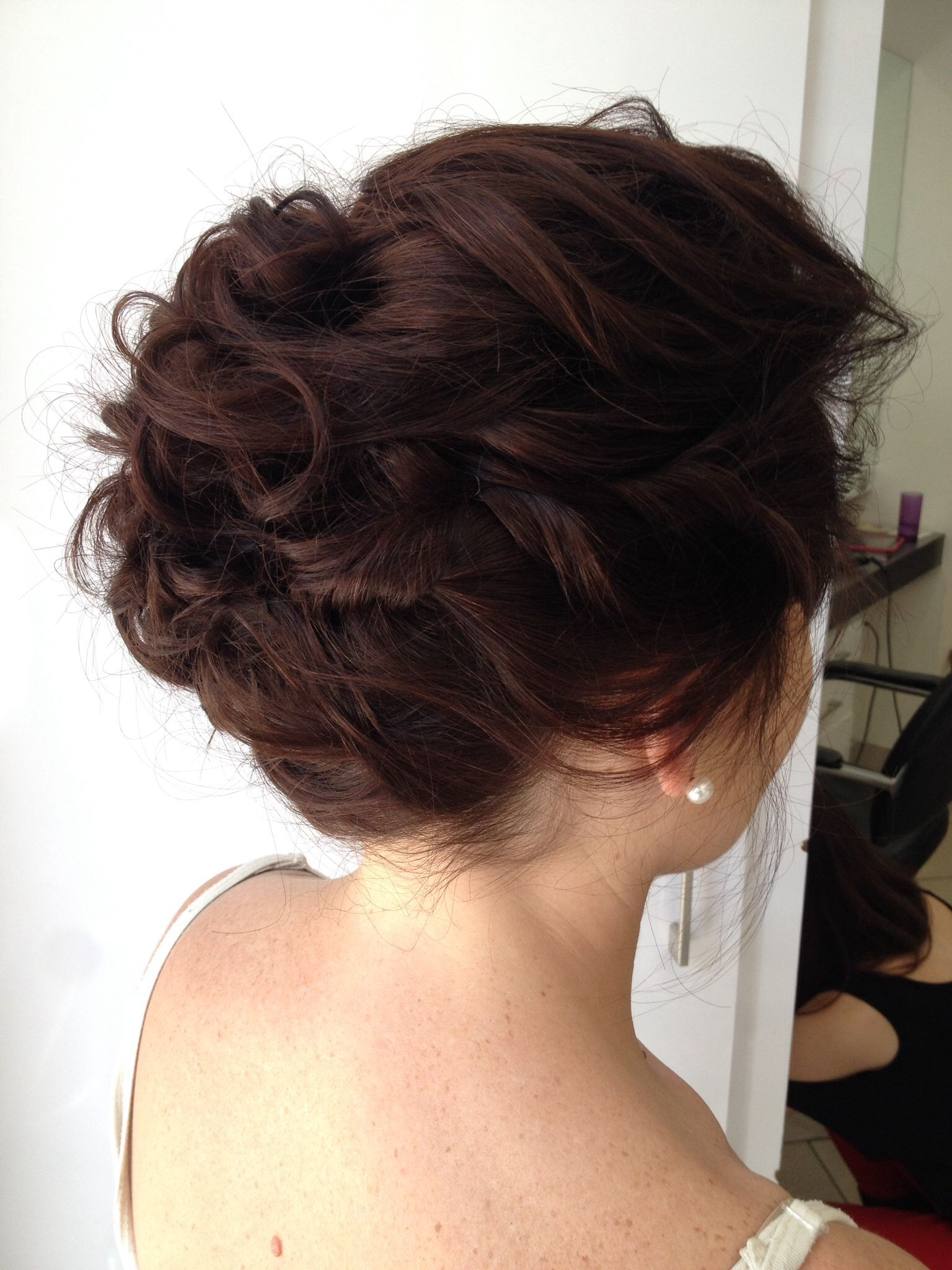 soft loose messy upstyle for brides | hairthelma | pinterest