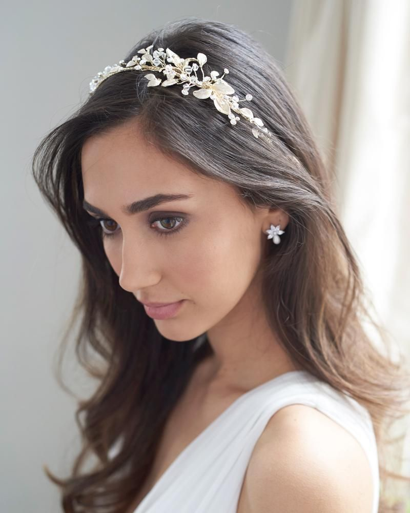 lani side headband in 2019 | bridal hair accessories