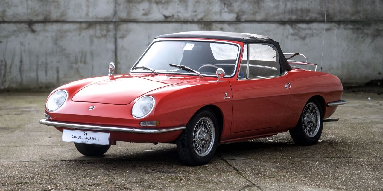 1967 Fiat 850 Spider Bertone Classic Driver Market