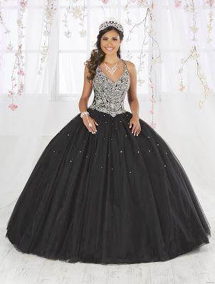 Vestidos De Xv Años Color Negro Para Fiesta