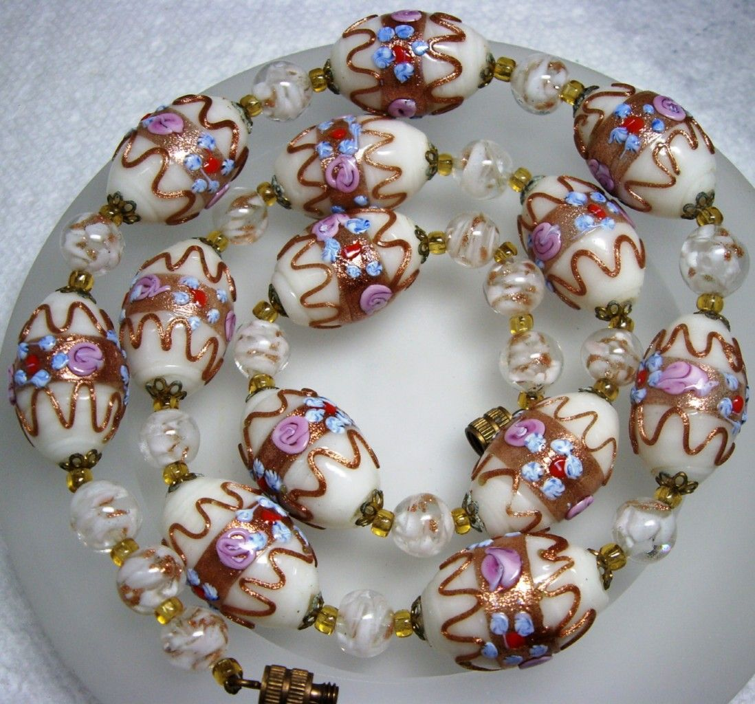 Auctiva Image Hosting Glazen kralen kettingen, Kralen, Glas
