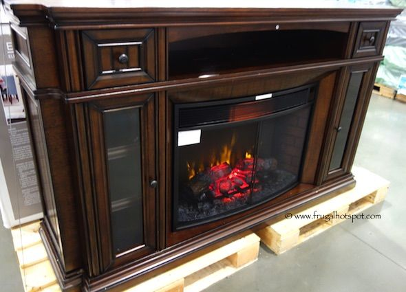 Costco Clearance Well Universal 72 Electric Fireplace Media