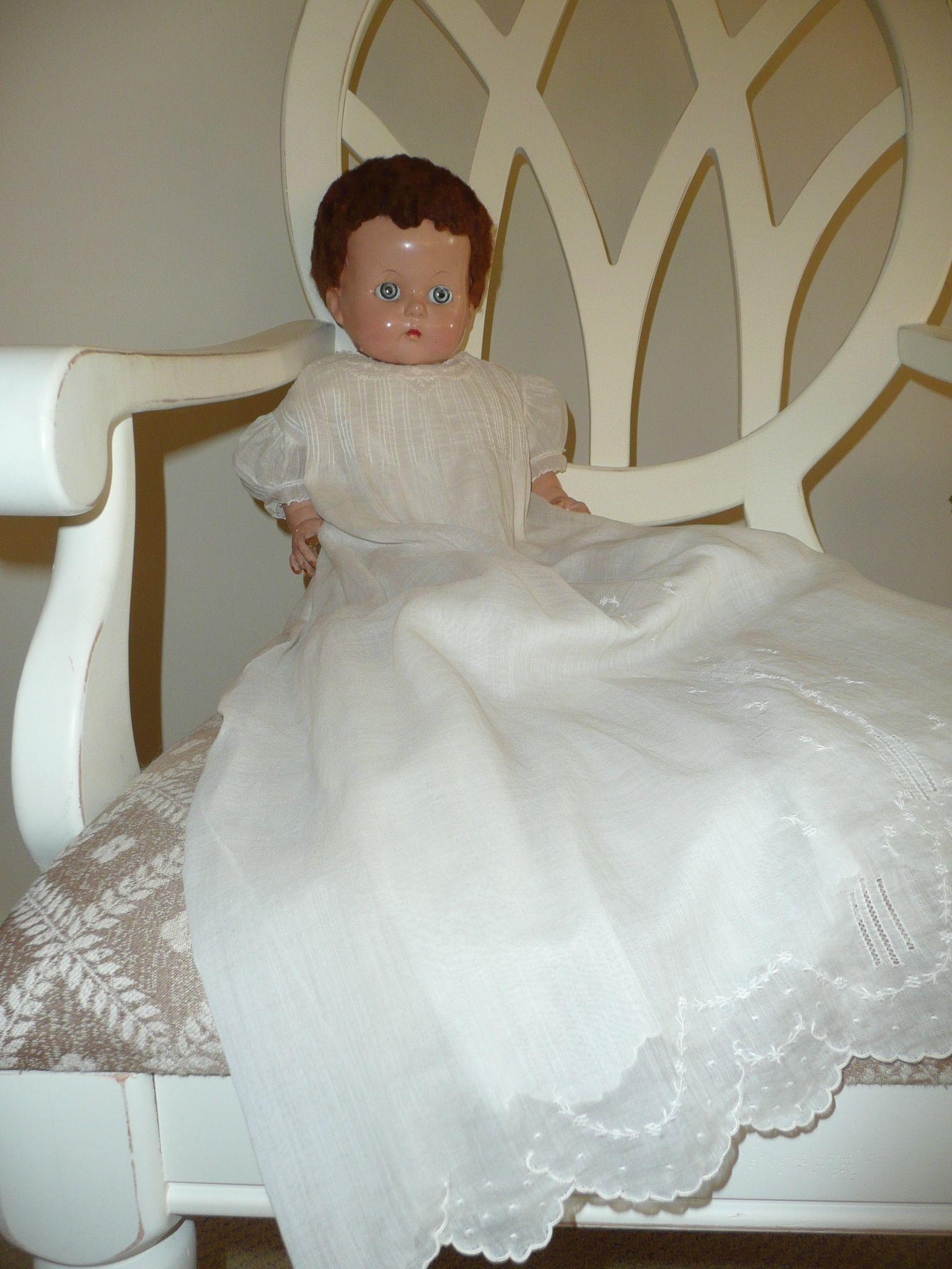 Antique Doll   from   AnniesCottageAttic.blogspot.com
