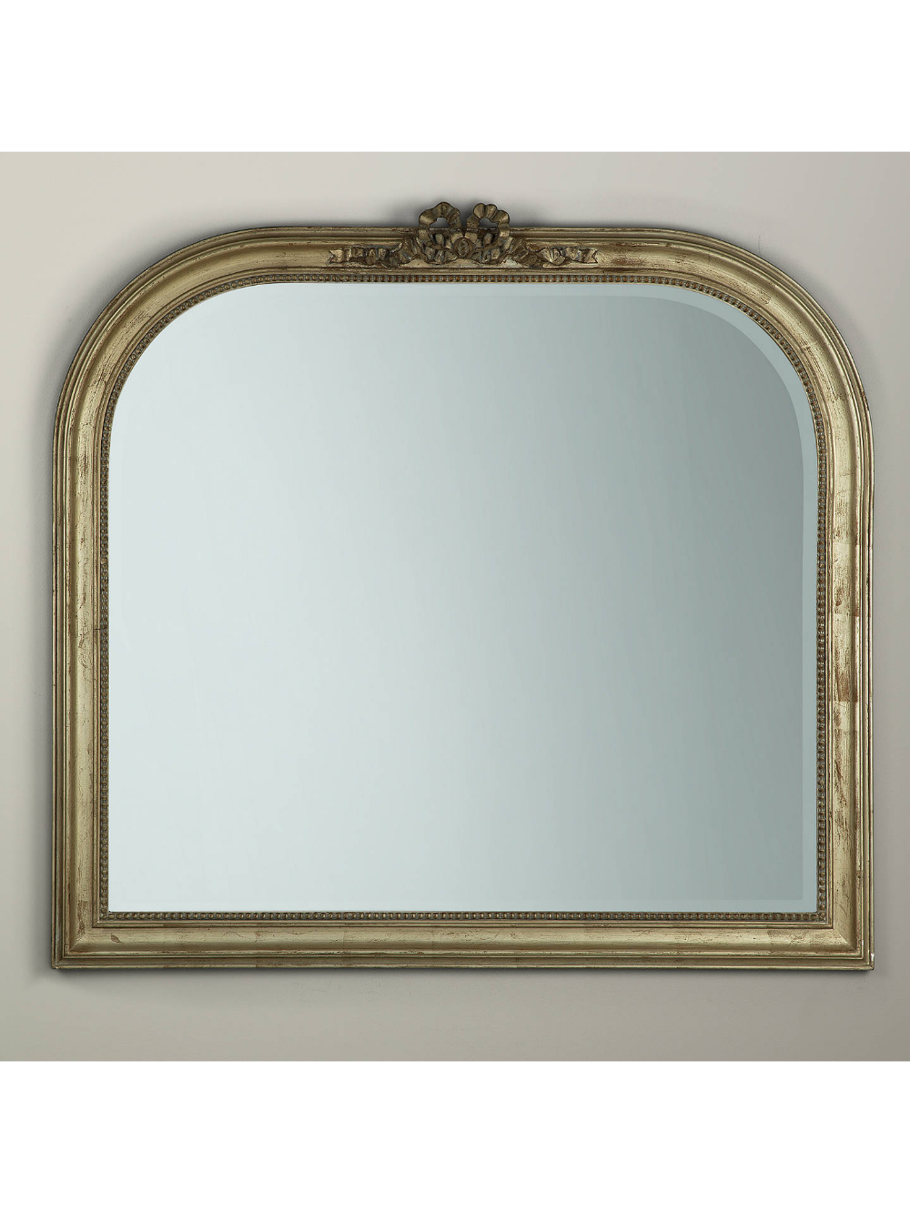 Overmantel Bow Mirror, Gold, 95 x 106cm in 2020 Mirror