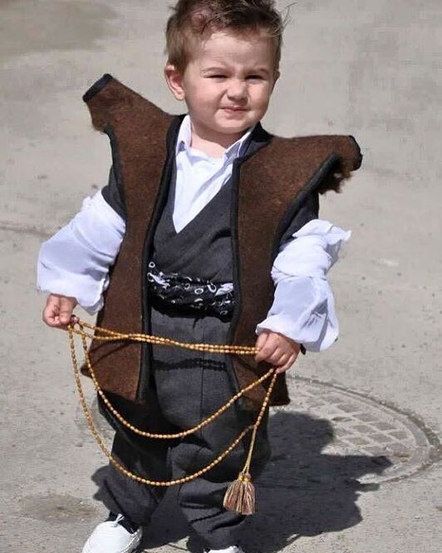 73498d8c6 Adorable Kurdish Boy from Iran in traditional Attire.
