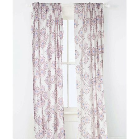 Periwinkle Curtain Panel