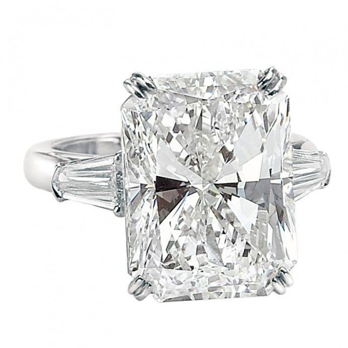 68e2d781d4fd10 Radiant Cut (Rectangular) with Tapered Baguettes | Emerald Cut ...