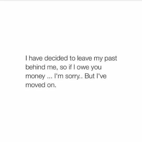 Really sorry