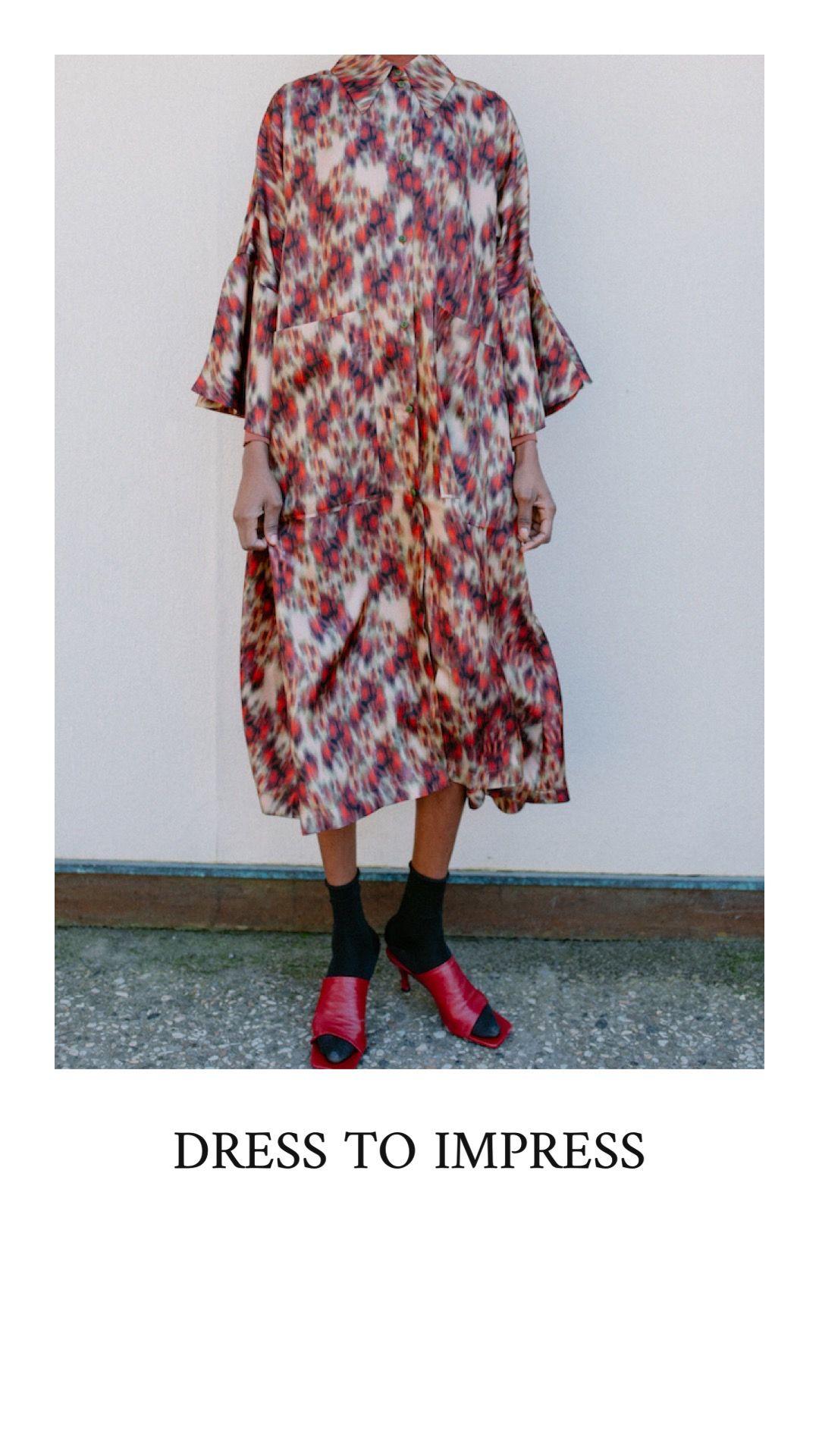 faires seidenkleid von fassbender Über the wearness online