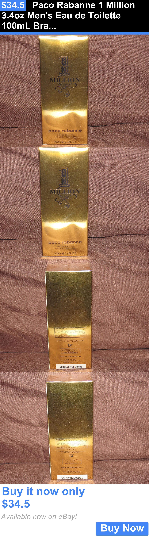 Men Fragrance: Paco Rabanne 1 Million 3.4Oz Mens Eau De Toilette 100Ml Brand New 3.4 Oz Edt BUY IT NOW ONLY: $34.5
