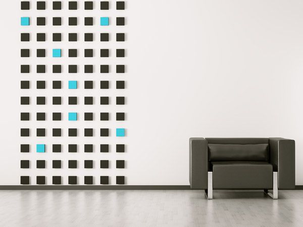 Perfekt Mit Farbigen Quadraten Akzente Setzen Bei Der Wandgestaltung | Paint The  Rooms | Pinterest | Farbig, Quadrate Und Wandgestaltung