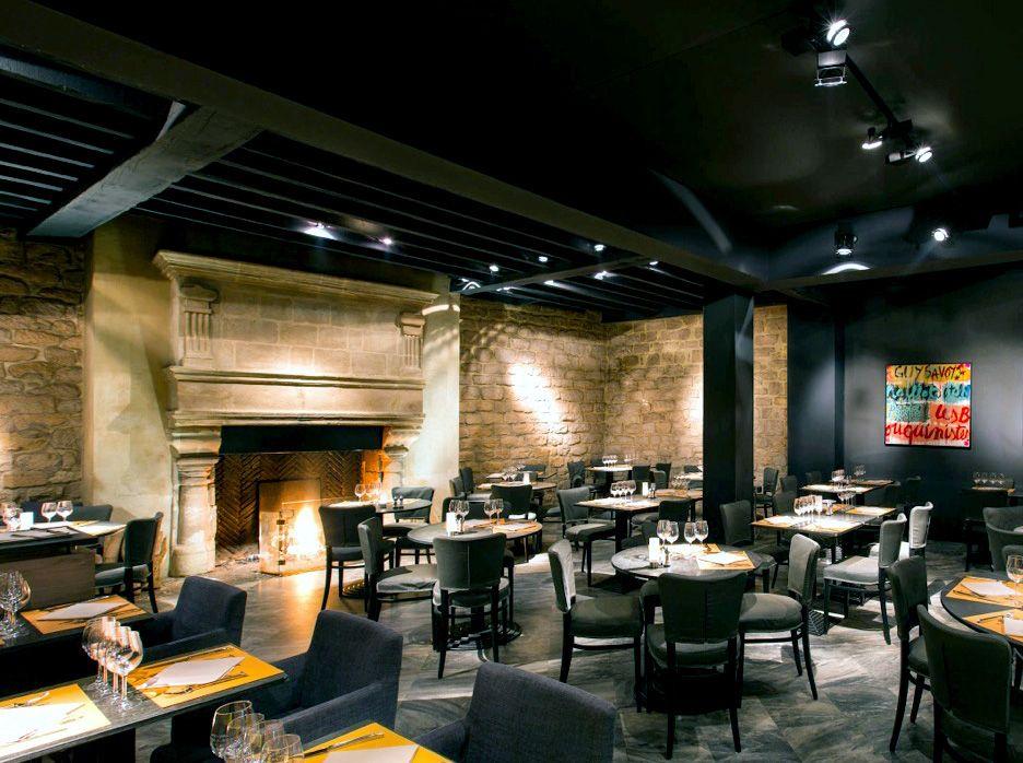 Restaurant décoré par l\'agence d\'architecture Wilmotte & Associés ...