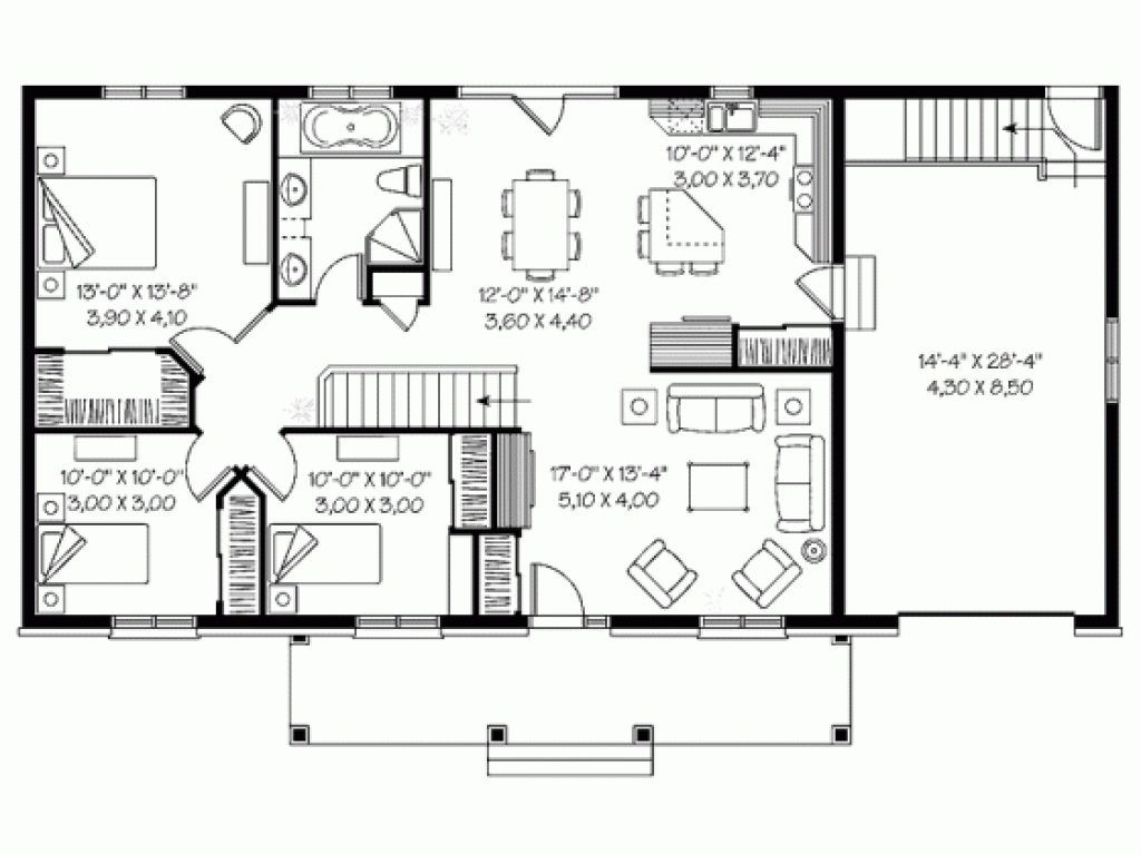 4 Room House Plan In Nepal House Plans Craftsman House Plans Bedroom House Plans