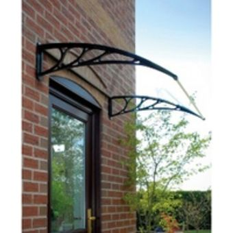 Curved Glass Porch Canopy Canopy Outdoor Outdoor Shade Patio Canopy