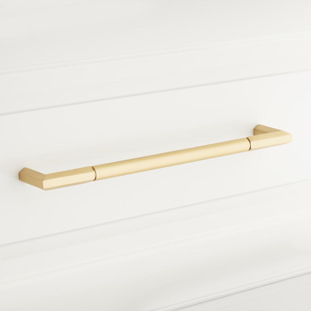 Lunata Solid Brass Appliance Pull Appliance Pulls Hardware In 2020 Brass Cabinet Pulls Signature Hardware Cabinet Drawer Hardware
