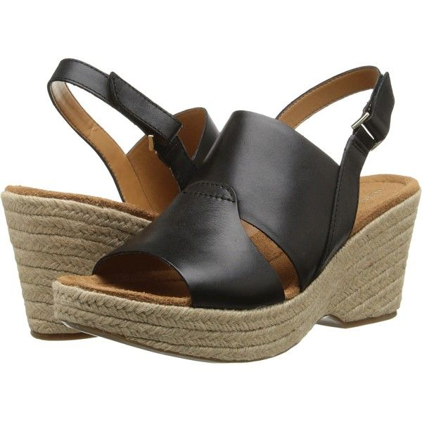 Womens Sandals Naturalizer Olivia Black Leather 2