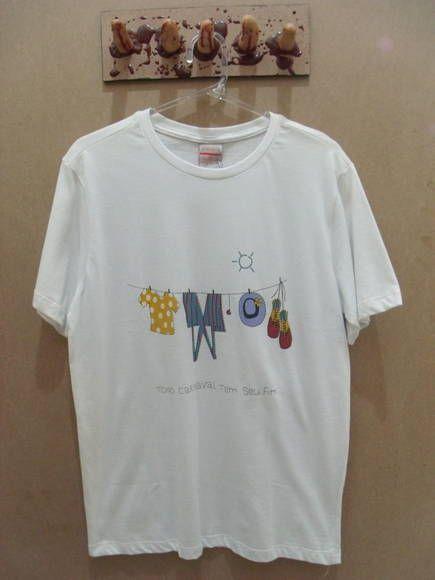 777e6f7a2b Camiseta Masculina Los Hermanos Cor  Branca Tamanho P R  57