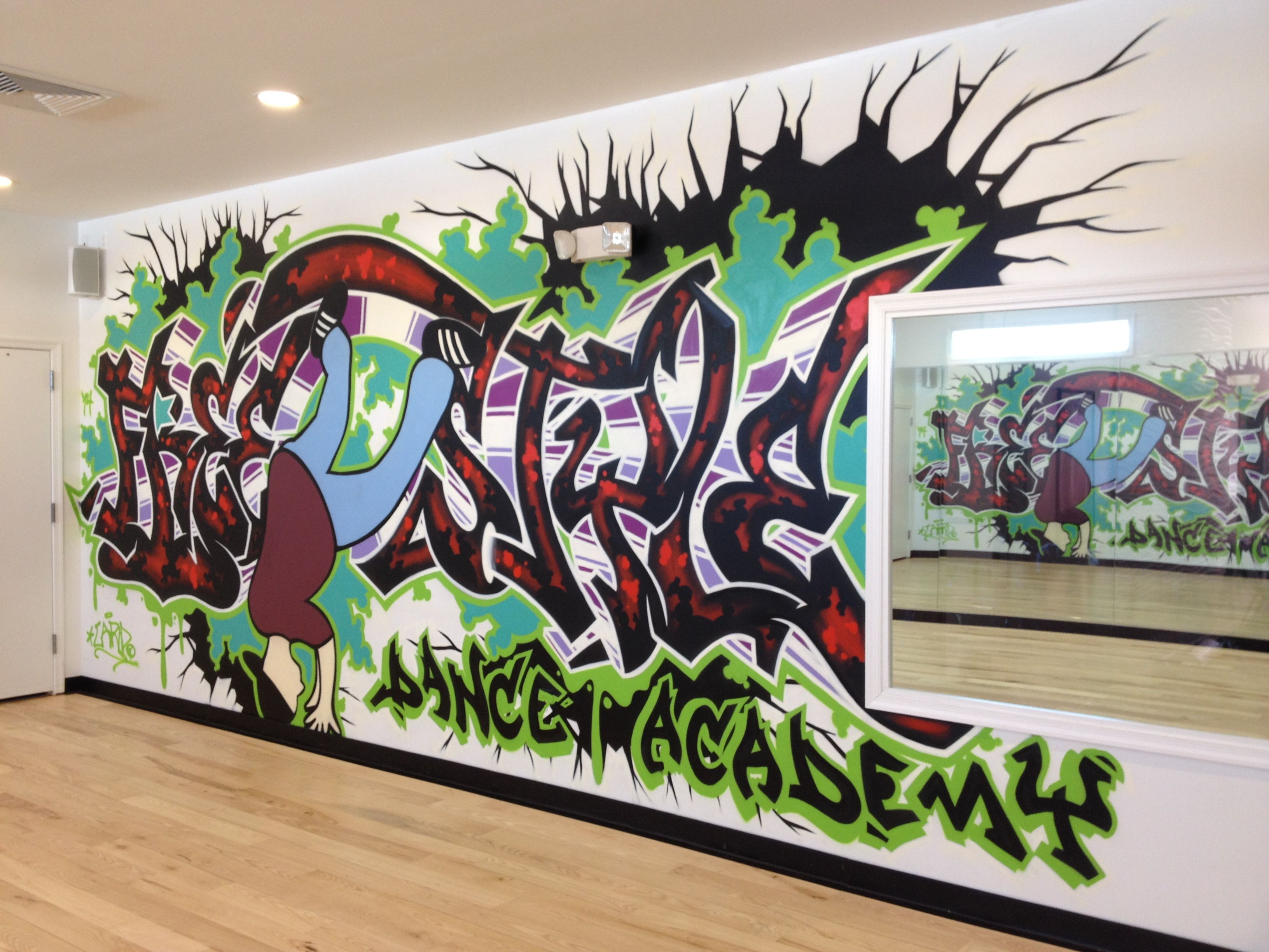 Check Out The Breath Taking Graffiti Work In Studio A