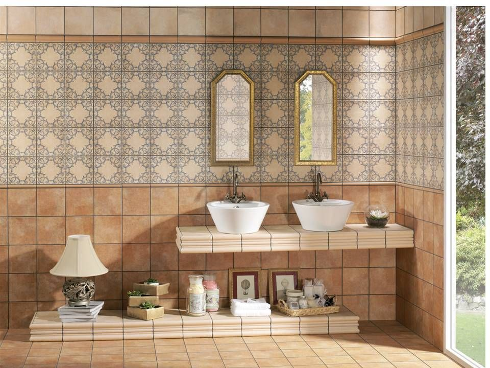 Azulejos para ba os rusticos los azulejos pieza clave a - Azulejos mosaicos para banos ...