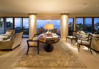 La Jolla Luxury Family Room 1 3 After With Images Living Room