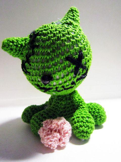 Zombie Cat Crochet Patterns And Cat Crochet