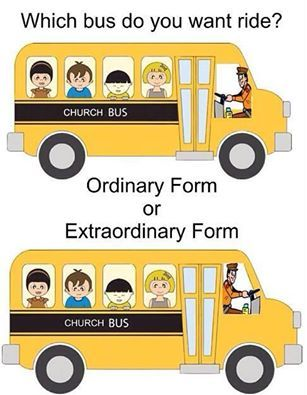 Which bus do you want ride? Ordinary Form or Extraordinary