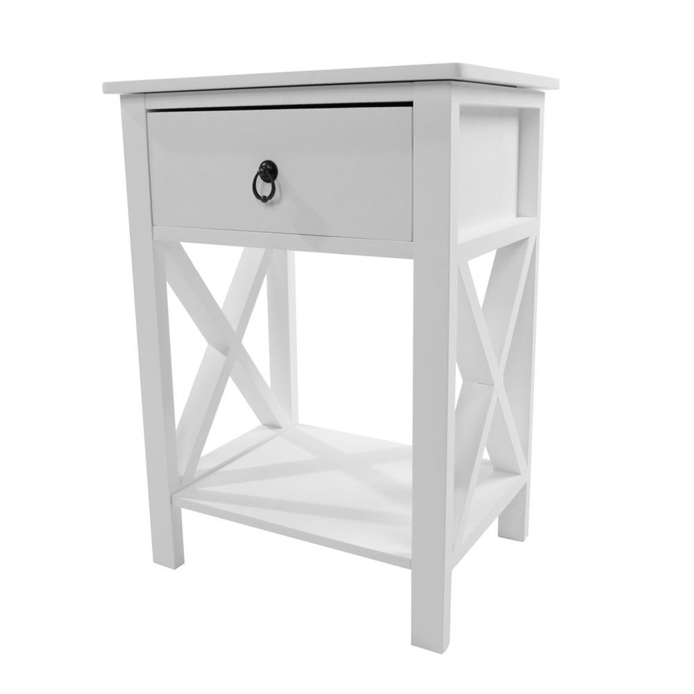 Details About Portable Coffee Bedside Sofa End Table Nightstand W Drawer Storage Shelf Home Us With Images Sofa Table With Drawers Bedside Tables Nightstands Bedroom Night Stands