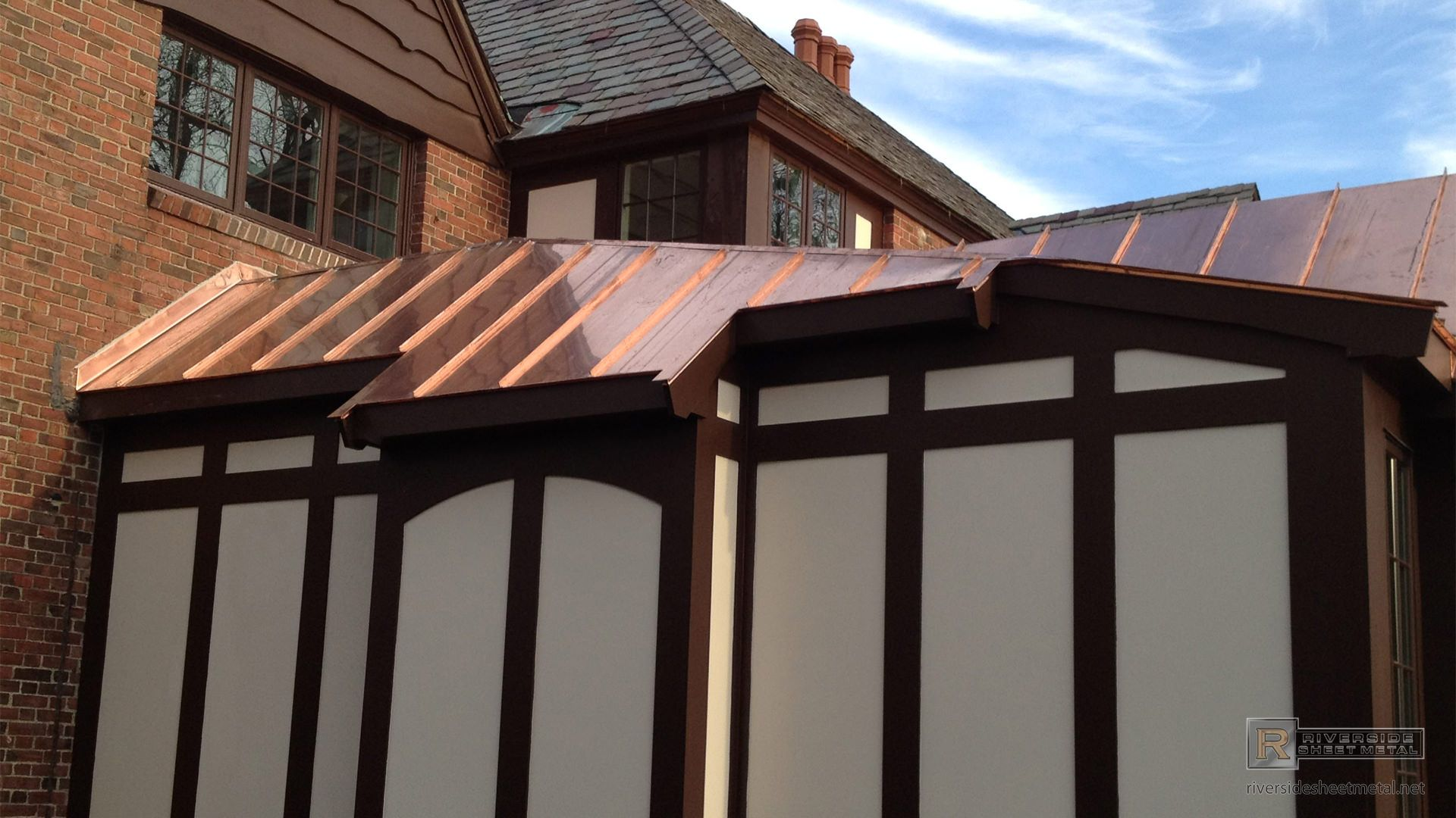 Standing Seam Copper Roof Copper Roof Metal Roof Roofing