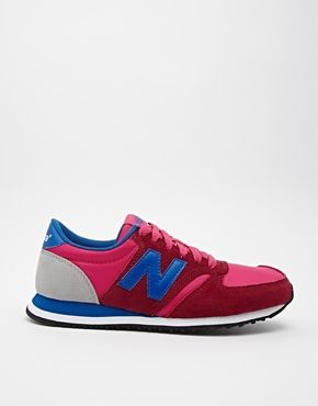 new balance bleu rose 420