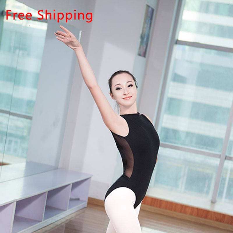 Femme Ballet Dance wear y dos en dentelle justaucorps