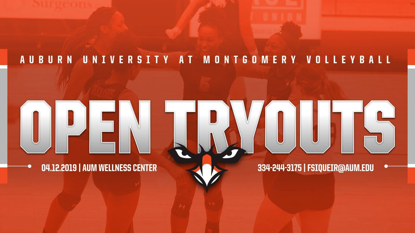 Aum Volleyball To Host Open Tryouts Volleyball Auburn University College Junior