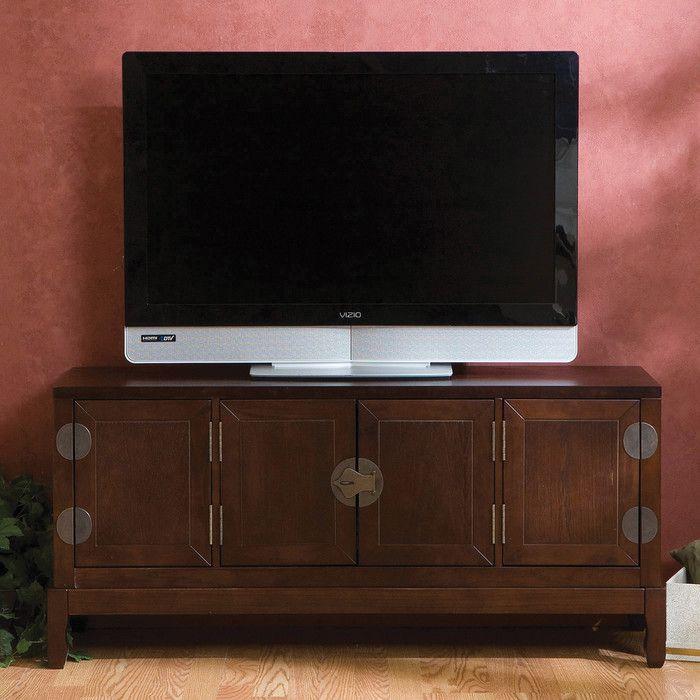 Woodhaven Hill Kingward TV Stand U0026 Reviews   Wayfair