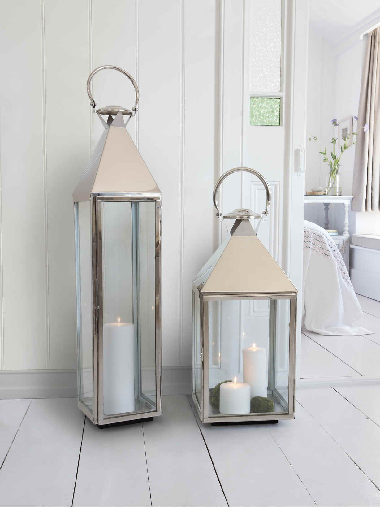 Big Stainless Steel Lanterns Indoor Candle Lanterns Indoor Lanterns Large Candle Lanterns