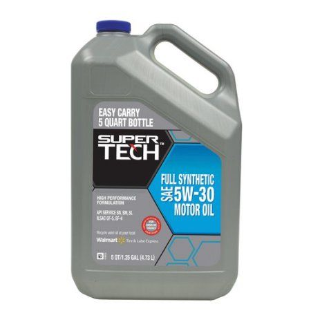 Super Tech Full Synthetic Oil, 5W20, 5 qt buy at cheap offer