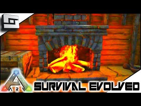 ARK: Survival Evolved   FIREPLACE AND CAGES UPDATE! S2E106 ( Gameplay )    YouTube