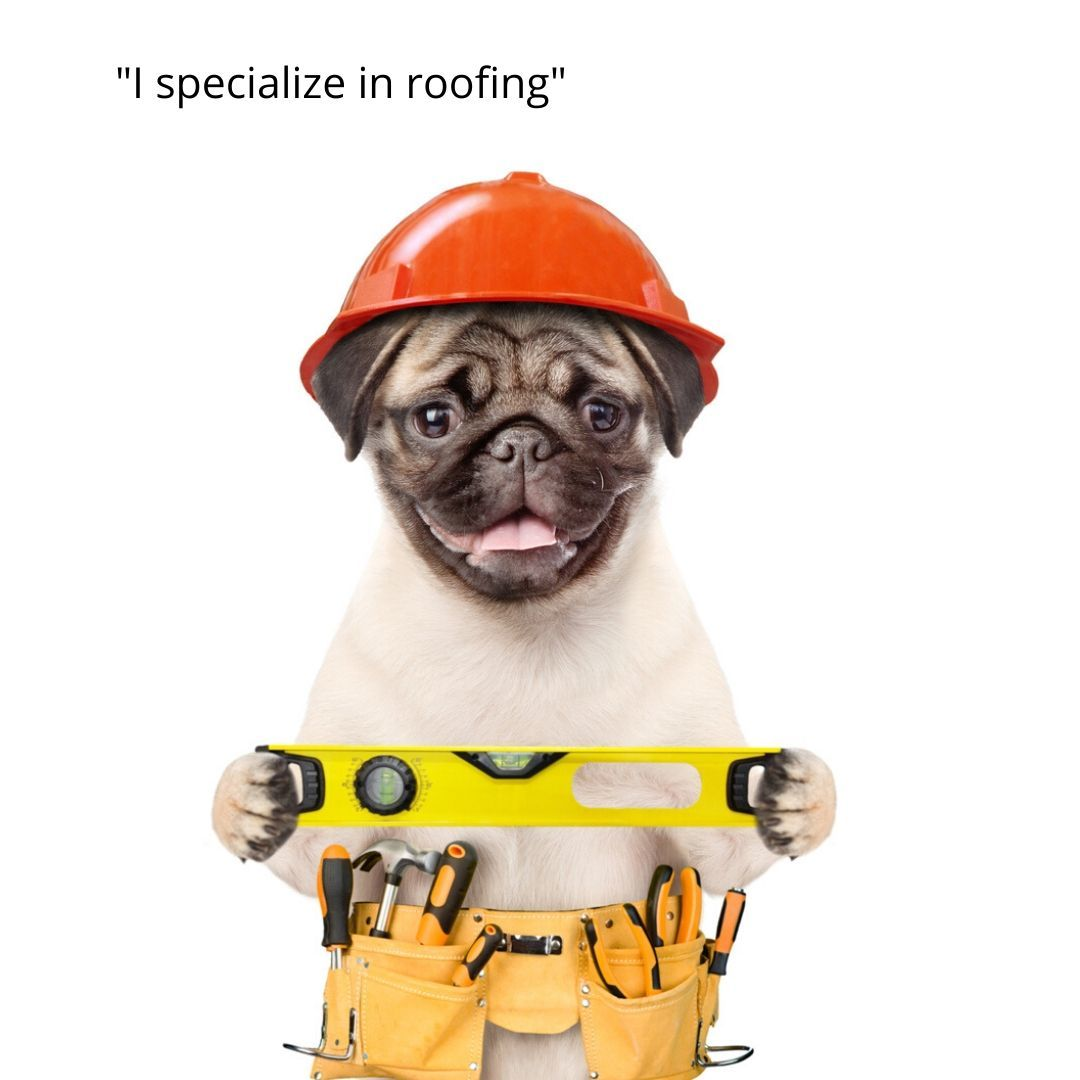 """""""I specialize in roofing."""" Contact Select Home"""