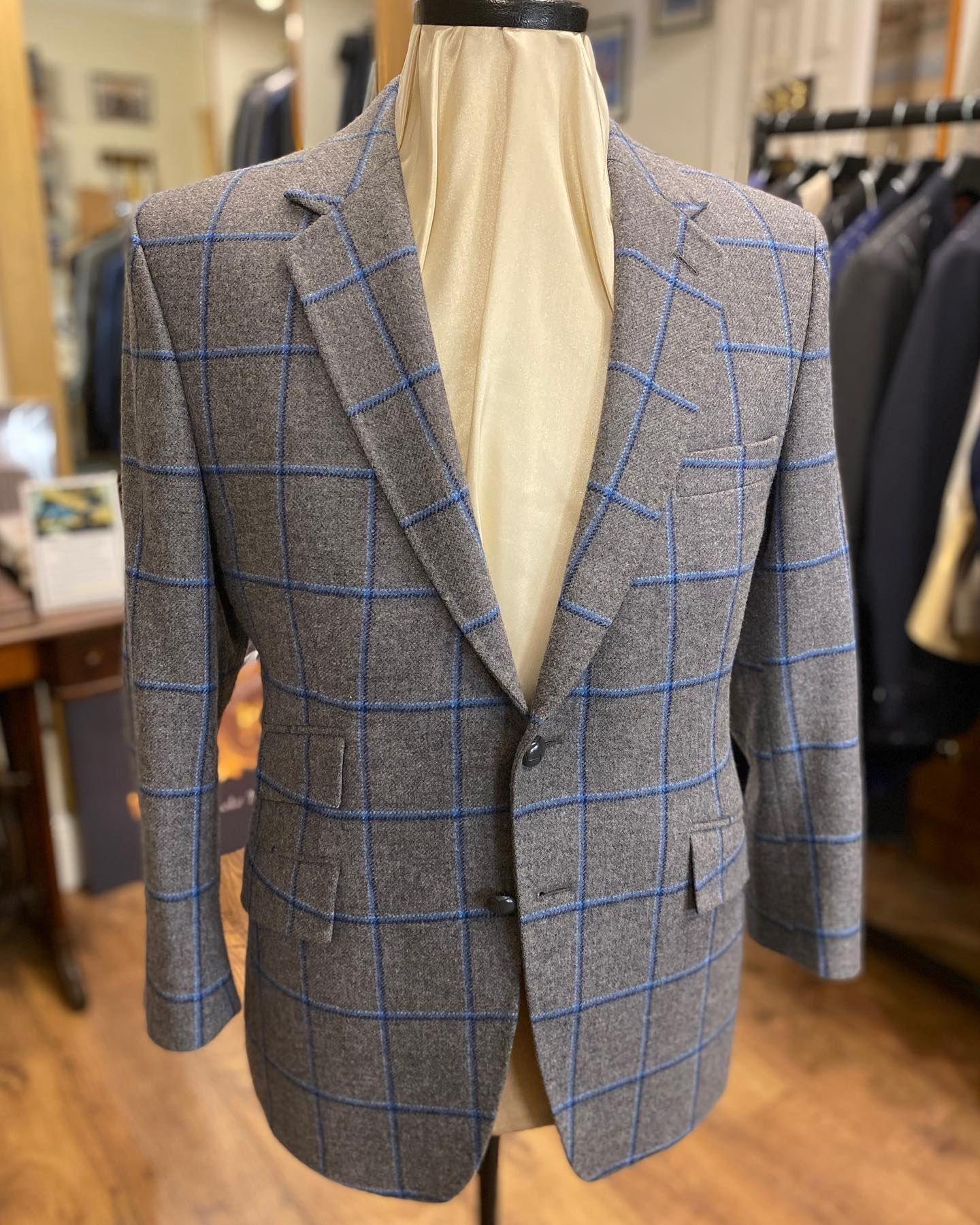 Bespoke Tweed Jacket in 2020 Suede elbow patches