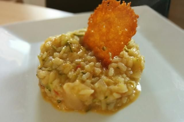 risotto courgettes et tomates mes recettes au cooking chef cooking chef pinterest. Black Bedroom Furniture Sets. Home Design Ideas