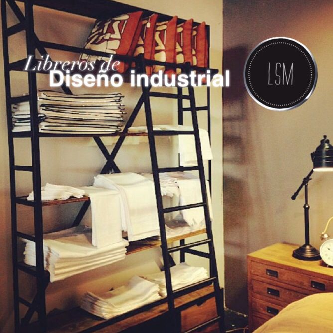 Muebles en dise o industrial la sastreria de muebles for Muebles de diseno industrial